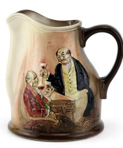 Dickens Mr Pickwick Relief Pitcher - Royal Doulton Seriesware