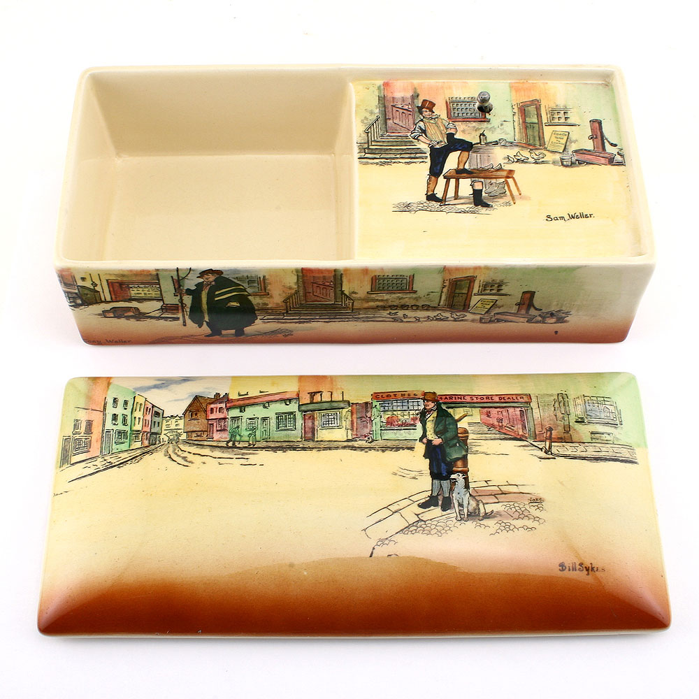 Dickens Music Box BSTW - Royal Doulton Seriesware