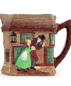 Old Curiosity Shop Pitcher - Royal Doulton Seriesware