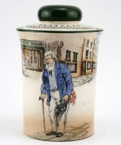 Dickens Old Peggoty Tobacco Jar - Royal Doulton Seriesware