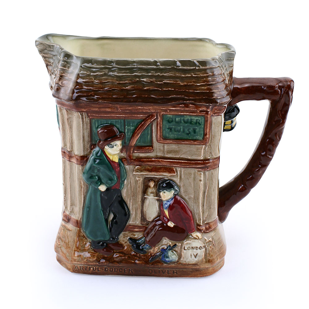 Pitcher, Oliver Twist With Artful Dodger - Royal Doulton Seriesware