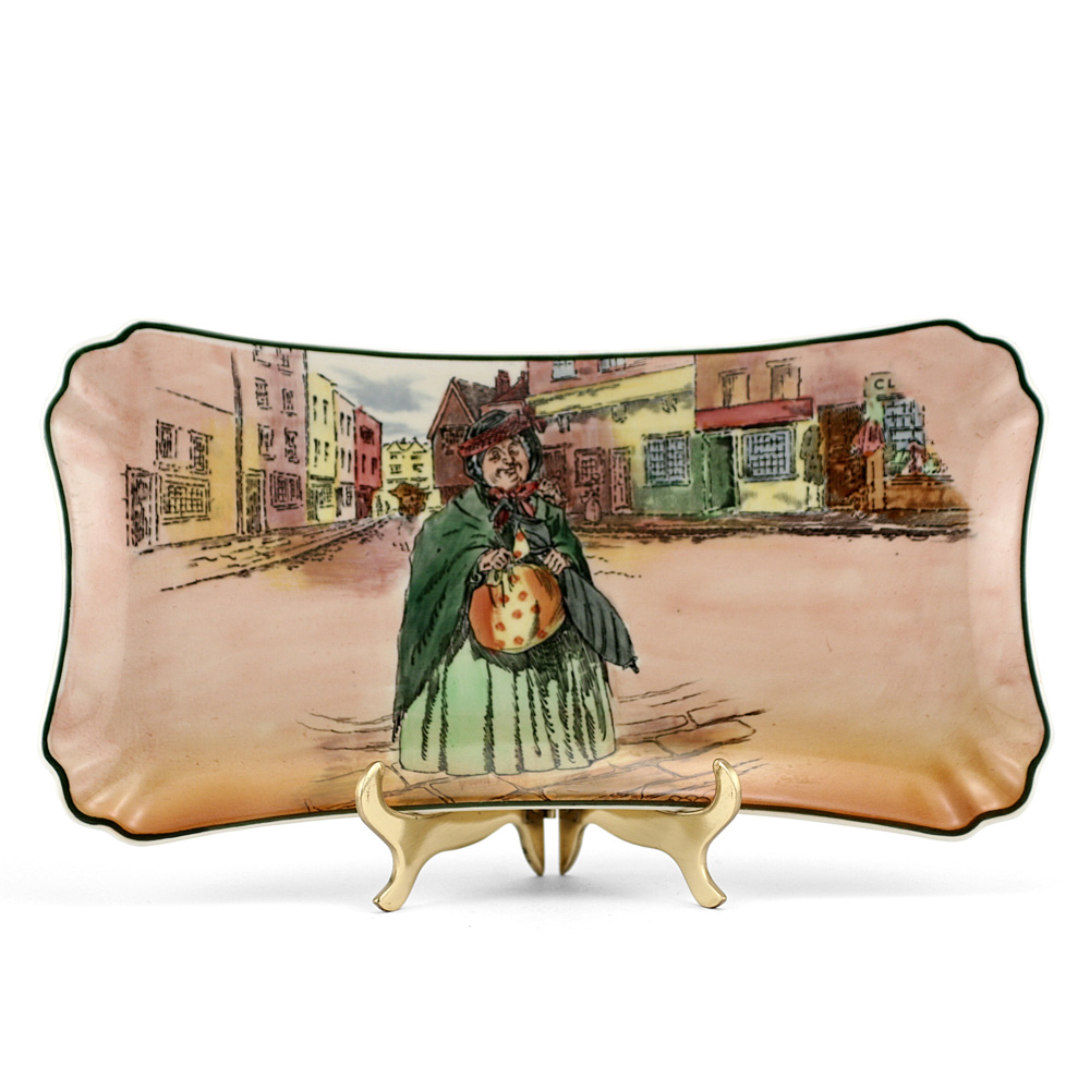 Dickens Sairey Gamp Tray - Royal Doulton Seriesware