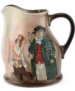Dickens Sam & Tony Weller Pitcher - Royal Doulton Seriesware