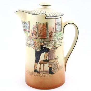 Dickens Sam Weller Coffee Pot - Royal Doulton Seriesware