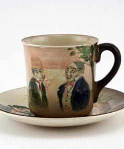 Dickens Sam Weller Cup & Saucer - Royal Doulton Seriesware