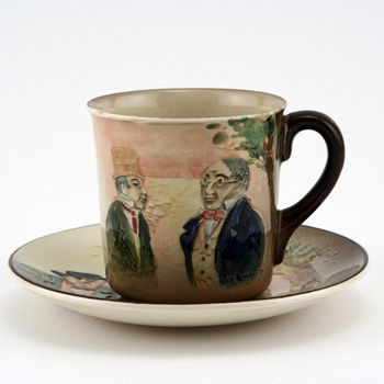 Dickens Sam Weller Cup & Saucer - Royal Doulton Seriesware