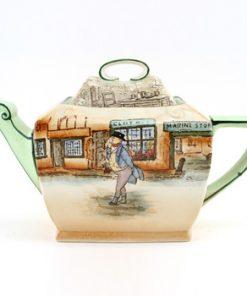 Dickens Teapot Mr Pickwick Rectangular - Royal Doulton Seriesware