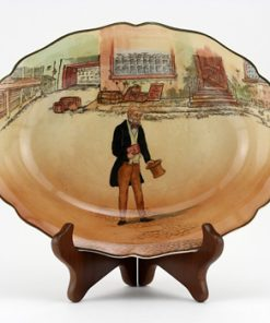 Dickens Tom Pinch Oval Bowl - Royal Doulton Seriesware