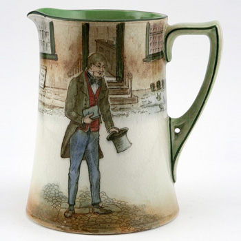 Dickens Tom Pinch Pitcher - Royal Doulton Seriesware