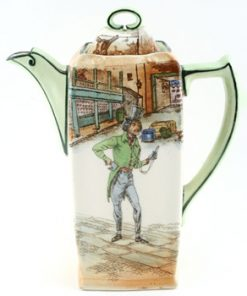 Dickens Trotty Veck Coffee Pot - Royal Doulton Seriesware