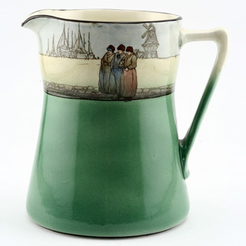 Dutch Pitcher Angled Handle - Royal Doulton Seriesware
