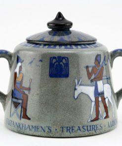 Egyptian Titanian Covered Sugar - Royal Doulton Seriesware
