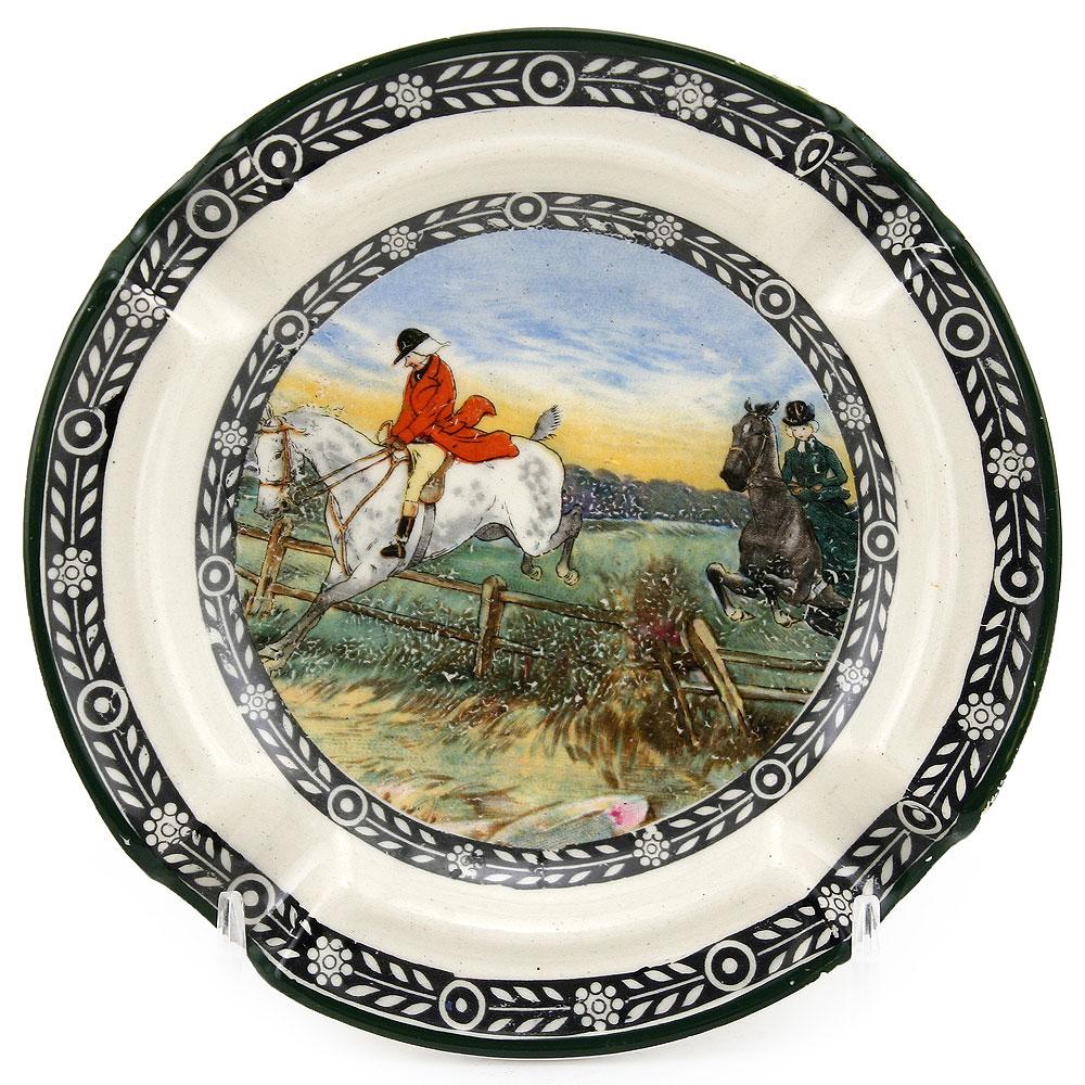 Fox Hunting Ashtray - Royal Doulton Seriesware