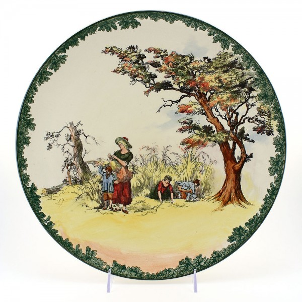 Gleaners Charger - Royal Doulton Seriesware