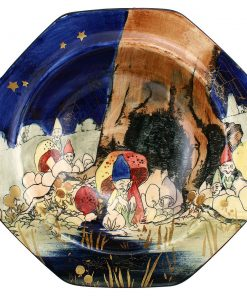 Gnomes Bowl, Octagonal - Royal Doulton Seriesware