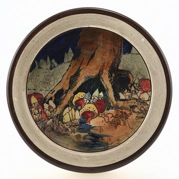 Gnomes Oatmeal Bowl - Royal Doulton Seriesware