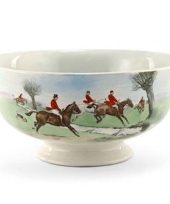 Hunting Bowl Across the Moor - Royal Doulton Seriesware