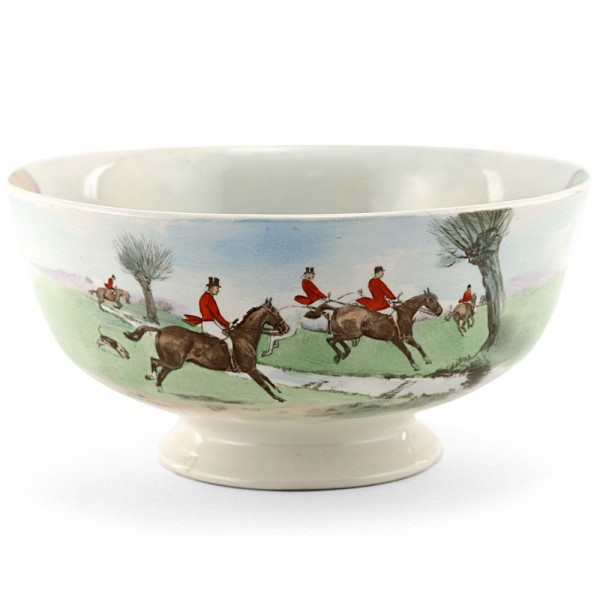 Hunting Bowl Across the Moor - Royal Doulton Seriesware