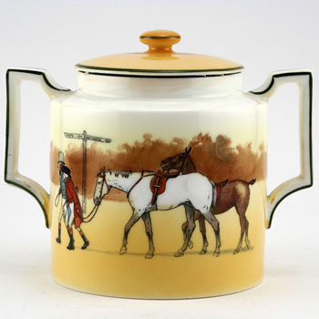 Hunting Jar Lidded Double Handle - Royal Doulton Seriesware
