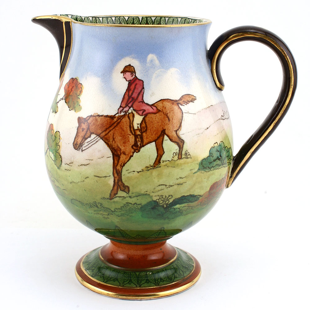Hunting Morland Pitcher 6_25H - Royal Doulton Seriesware
