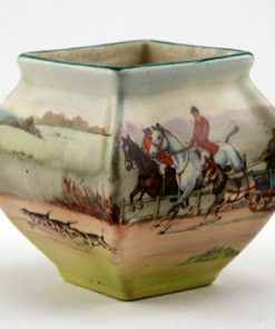 Hunting Vase Square Mini - Royal Doulton Seriesware