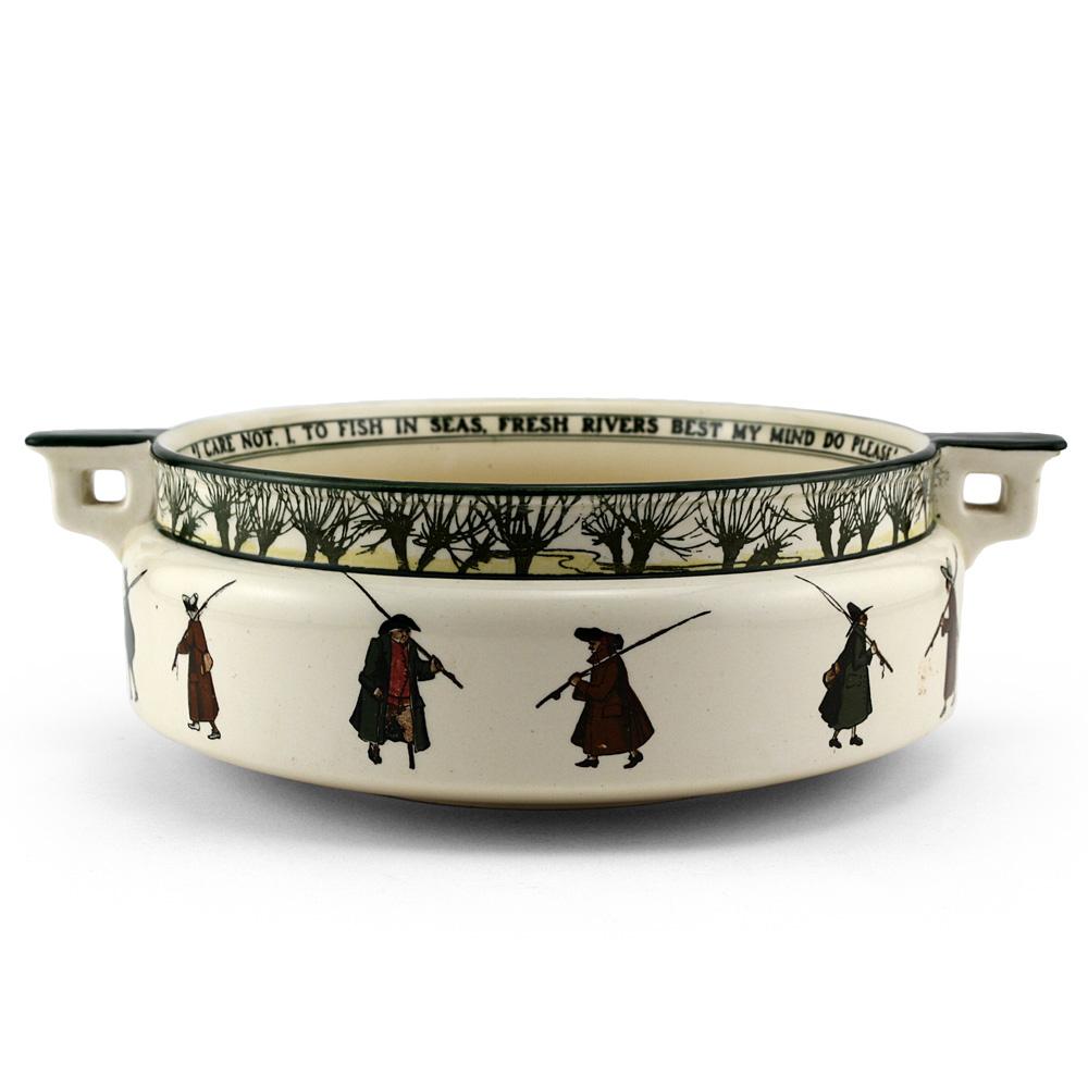 Izaac Walton Bowl - Royal Doulton Seriesware