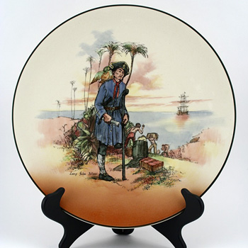 Long John Silver Charger - Royal Doulton Seriesware