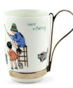 Nursery Rhyme Cup Simple Simon - Royal Doulton Seriesware