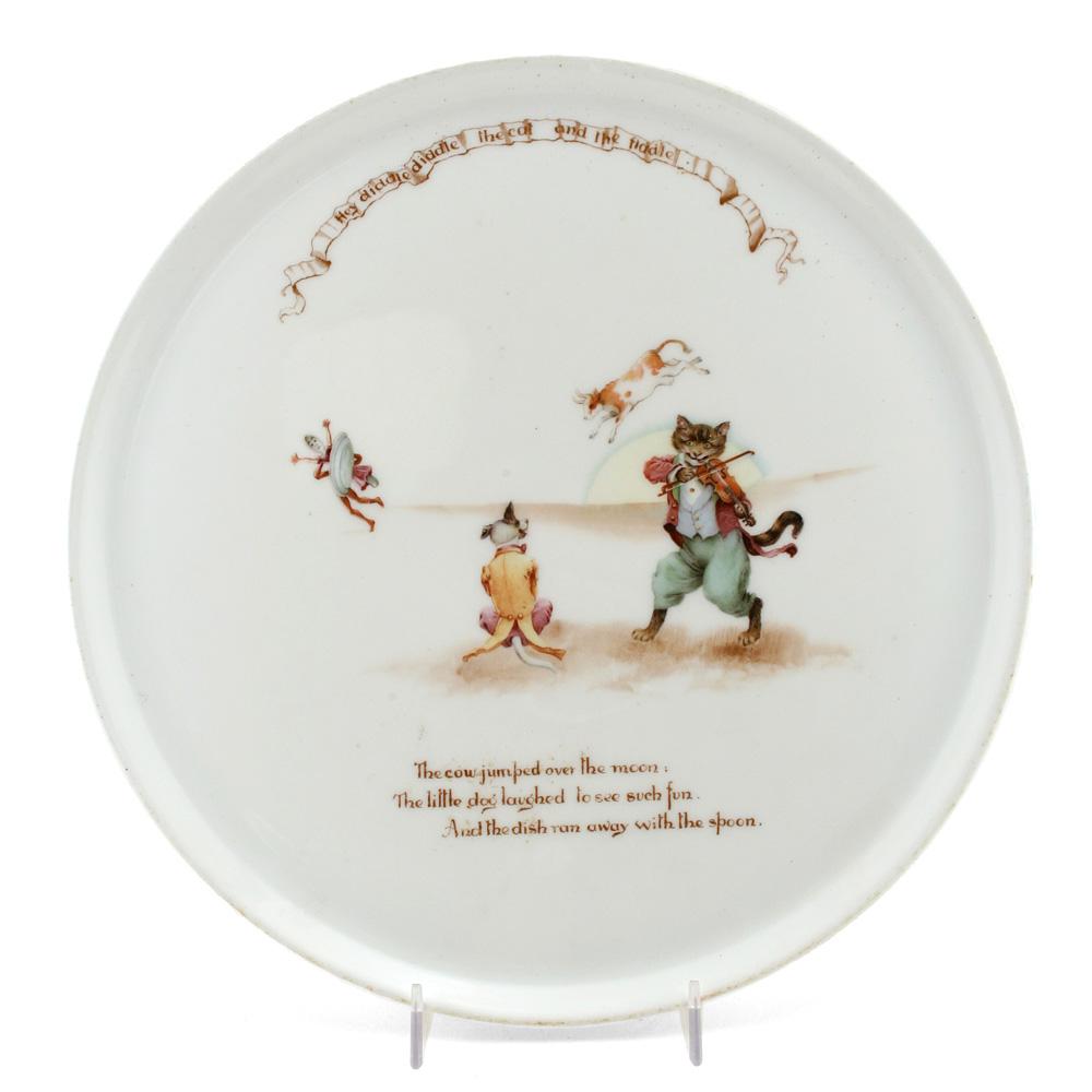 Nursery Rhyme Tray Cat Fiddle - Royal Doulton Seriesware