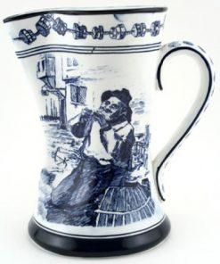 Old Salt Pitcher, Blue & White - Royal Doulton Seriesware