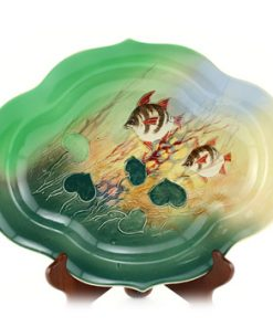 Old Wife Relief Oval Dish - Royal Doulton Seriesware