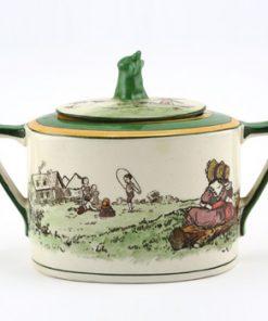 Playtime Sugar Bowl Lidded - Royal Doulton Seriesware