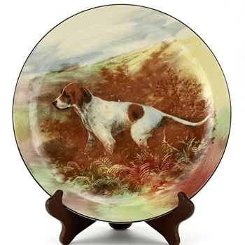 Pointer Plate - Royal Doulton Seriesware