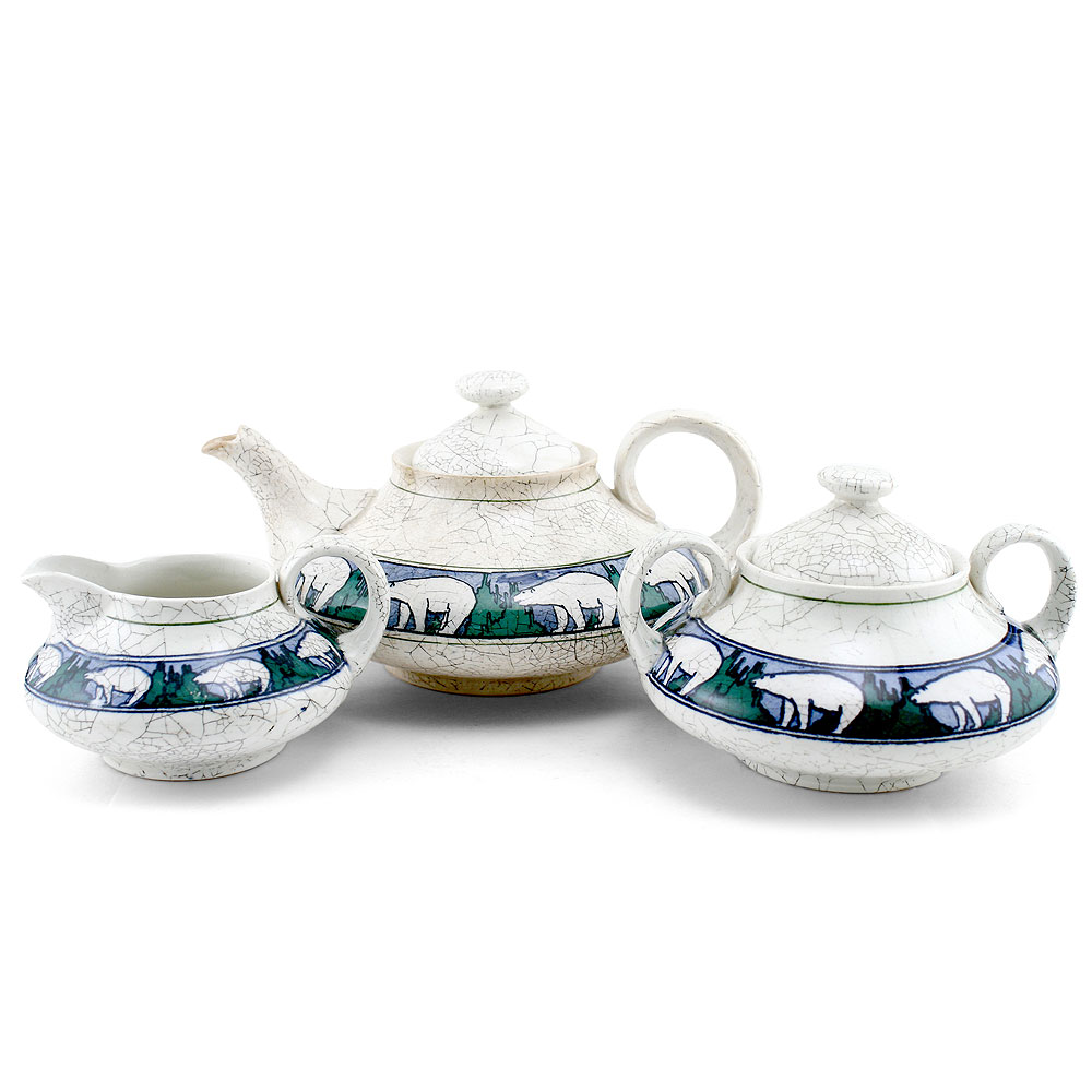 Polar Bears 3pc Tea Set - Royal Doulton Seriesware