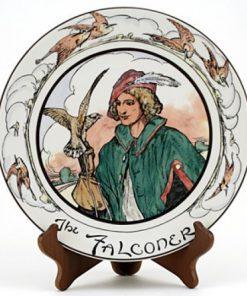 Professional Falconer Plate - Royal Doulton Seriesware