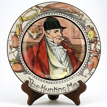 Professional, Hunting Man Plate - Royal Doulton Seriesware