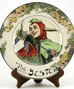 Professional, Jester Plate - Royal Doulton Seriesware
