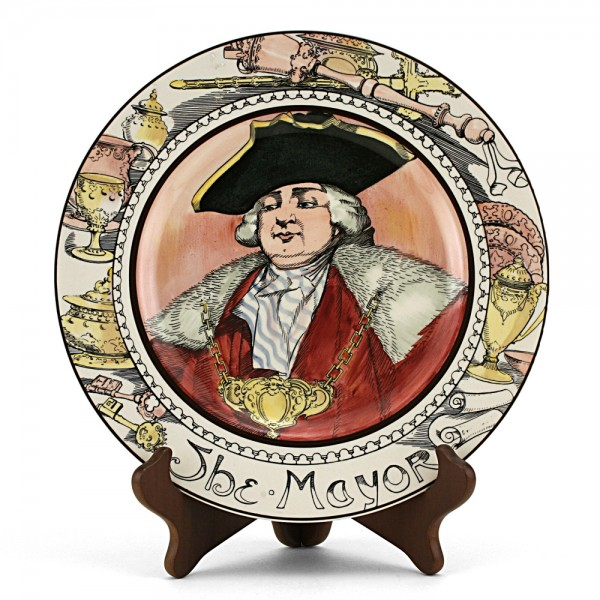 Professional, Mayor Plate - Royal Doulton Seriesware