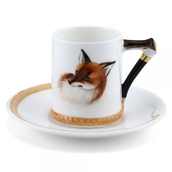 Reynard the Fox Cup and Saucer - Royal Doulton Seriesware