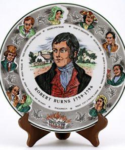 Robert Burns Plate 1St Version - Royal Doulton Seriesware