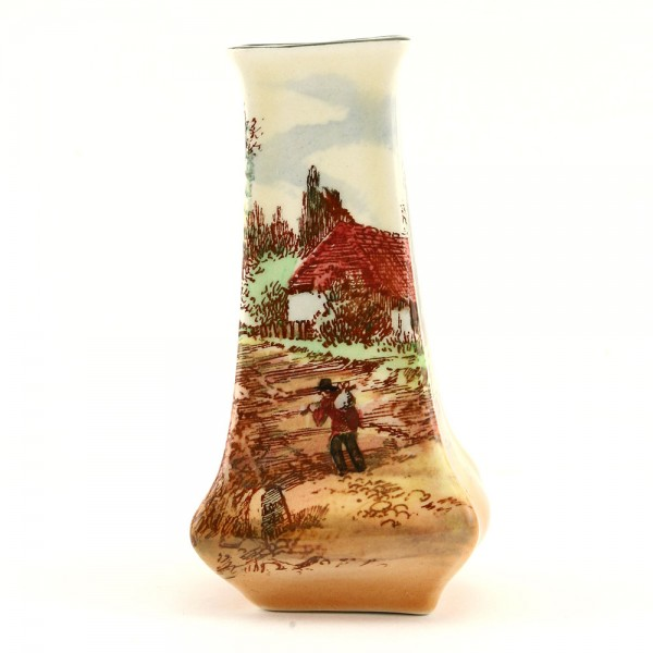 Rustic England Vase SQ 4H - Royal Doulton Seriesware