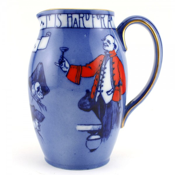Toasting Mottoes Pitcher 6H - Royal Doulton Seriesware