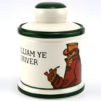William Ye Driver Tobacco Jar - Royal Doulton Seriesware