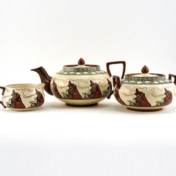 Witch Tea Set 3Pc - Royal Doulton Seriesware