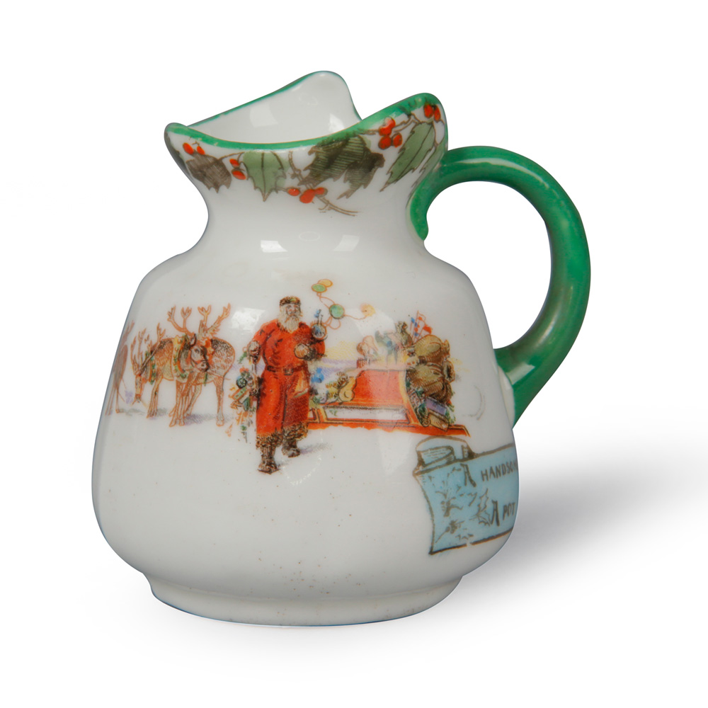 Christmas Mini Pitcher 2_25H - Royal Doulton Seriesware