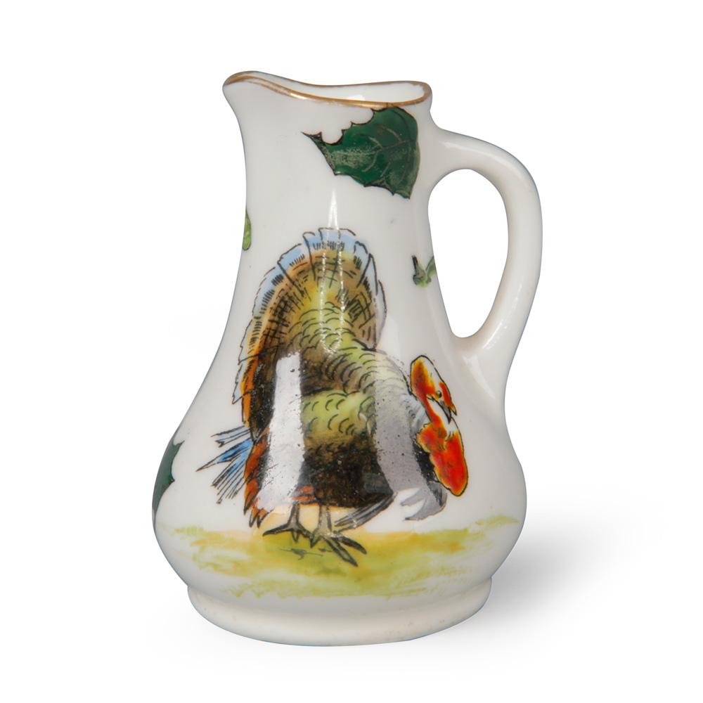 Christmas Turkey Pitcher - Royal Doulton Seriesware