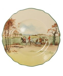 Fox Hunting Plate - Royal Doulton Seriesware