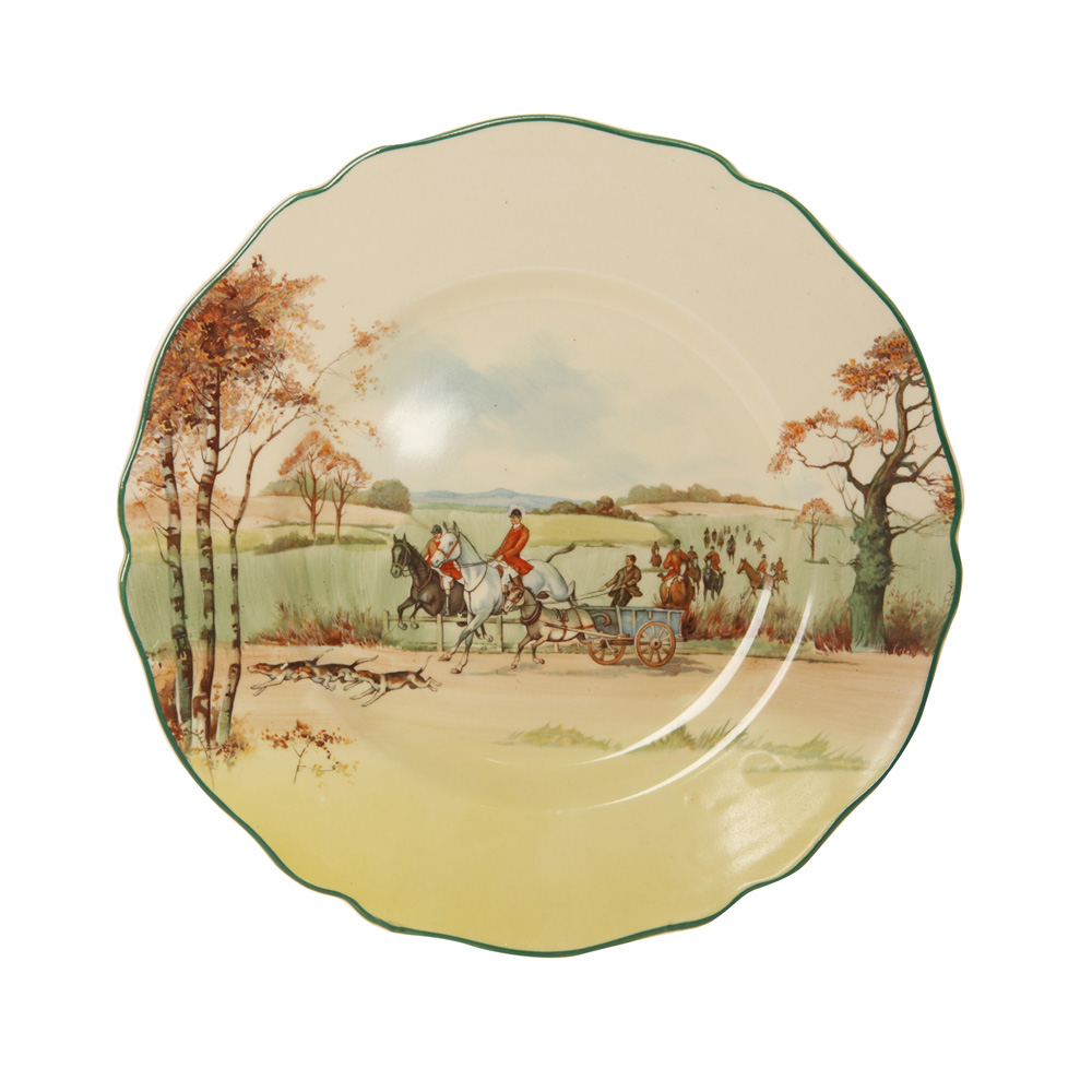 Fox Hunting Plate - Royal Doulton Seriesware