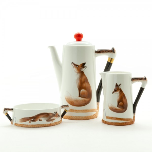 Reynard the Fox 3pc Set - Royal Doulton Seriesware