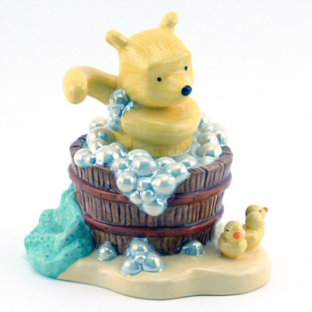 A Clean Bear Is A Happy Bear WP49 - Royal Doultoun Storybook Figurine